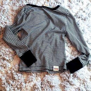 Harajuku Mini Shirts & Tops - Harajuku Mini Striped Sequin Shirt